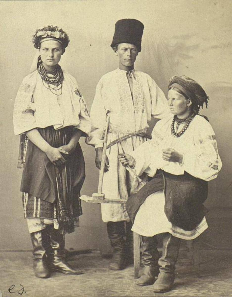Старовинний український одяг картинки 17 фотография