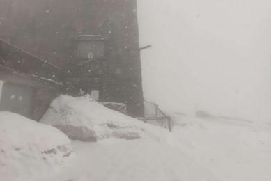 Розпал травня. Карпати замітає снігом (ФОТО)