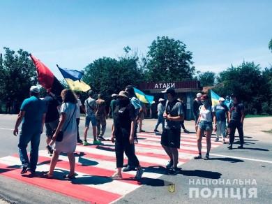 Пікетувальники знову заблокували трасу в Хотині. Осачук засудив дії активістів (ВІДЕО)
