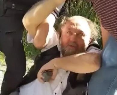 Поліція затримала за кермом п'яного священника РПЦвУ – радника з питань моралі міського голови Кам'янця-Подільського (ФОТО+ВІДЕО)