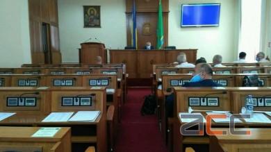 Сесія Чернівецької обласної ради зірвана через відкликання ОДА основного питання - проєкту рішення про зміни до бюджету (ВІДЕО)
