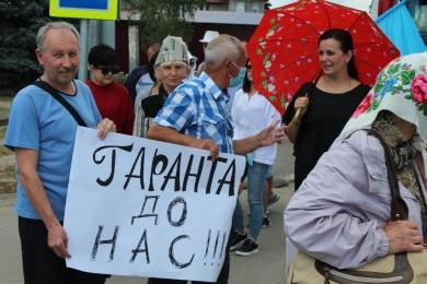 Протестувальники в Атаках обурені, що президент припустив, що їхня акція є проплаченою (ФОТО)