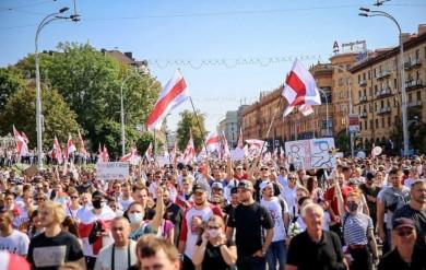 У Білорусі проходить наймасовіший страйк за всю історію країни