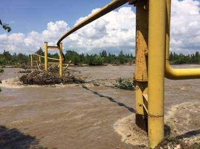 """У АТ """"Чернівцігаз"""" немає коштів на відновлення пошкодженого паводком газопроводу: без газу взимку можуть залишитися майже 3 тисячі буковинців"""