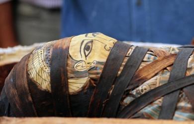 У Єгипті перед пресою відкрили саркофаг, якому понад 2500 років (ФОТО)