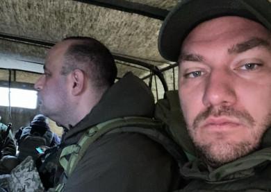 """""""Слуга народу"""" Леонов вперше за час роботи виїхав на лінію фронту і став зрадофілом, дізнавшись, що найманці РФ стріляють щодня, - Бутусов"""