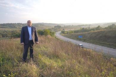 Голова обласної ради Мунтян об'їхав об'єкти, до будівництва яких долучався особисто, починаючи від 2008 року