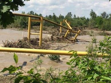 Кабмін виділить Буковині 9 млн на відновлення пошкодженого паводком газопроводу «Джурів-Банилів»