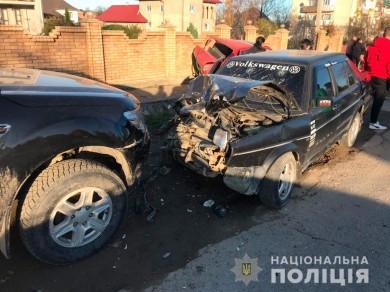 На Сторожинеччині біля Красноїльська сталась ДТП з чотирма потерпілими
