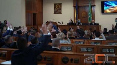 Чернівецька райрада затвердила Домніцаку чотирьох заступників (ФОТО)