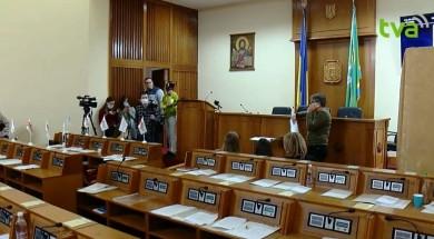 Павлюк пропонує зірвану через «замінування» сесію Чернівецької облради продовжити завтра (ВІДЕО)