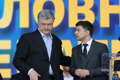 """Зеленський заявив, що всі чекають, коли посадять Порошенка. У """"ЄС"""" це назвали нав'язливою фантазією"""