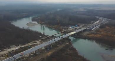 На Буковині офіційно відкрили міст у Маршинцях