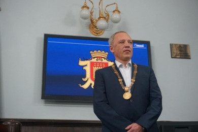 Мер Чернівців Клічук привітав чернівчан із Новим 2021 роком