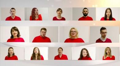 Українські колядки заспівали онлайн у різних країнах світу (ВІДЕО)