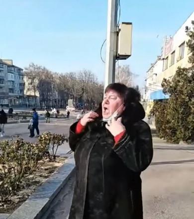 """""""Треба кінчати з цією клоунадою, бл*дь!"""" - жителька мітингу проти підвищення вартості газу підірвала інтернет (відео)"""
