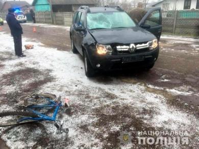 На Буковині під колесами легковика загинув велосипедист