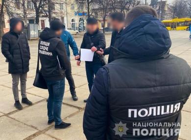 Затримали посадовця обласного управління Держпраці, який вимагав у підприємця 1000 євро