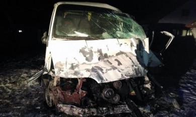 Смертельна ДТП: водій хлібовозу заснув за кермом і врізався у стовп