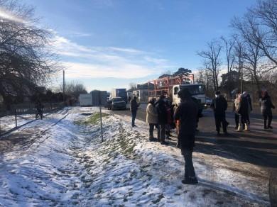 «Тарифний» протест триває: у Кіцмані, Яблунівці та Берегометі селяни перекрили дороги