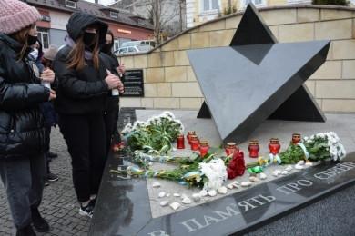 У Чернівцях вшанували пам'ять жертв Голокосту