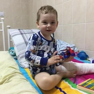 Допоможіть врятувати життя 5-річному чернівчанину Михайликові Зарицькому