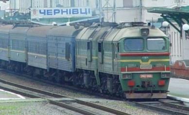 Укрзалізниця призначила додатковий потяг до Чернівців