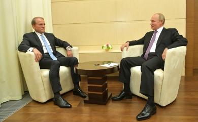 Санкції проти Медведчука ввели за фінансування тероризму, - секретар РНБОУ Данілов