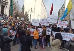 Організатори акції висунули низку вимог під ОП: У Зеленського є тиждень, щоб звільнити Стерненка