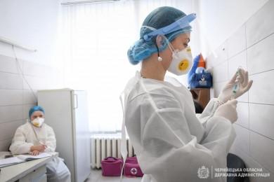 1 березня щеплення отримали 40 буковинських медиків