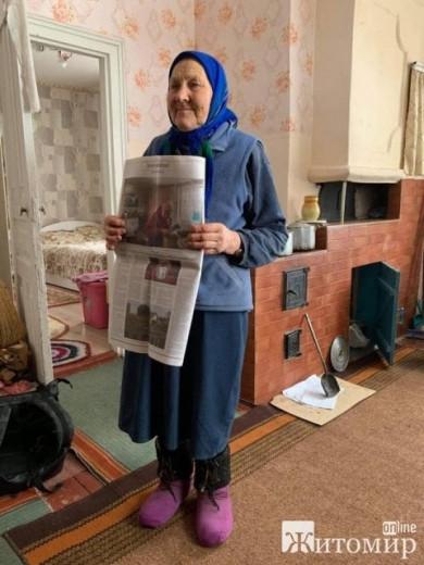 Як бабуся з Житомирщини потрапила на шпальти New York Times зі своїм портретом і... секретом