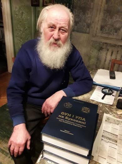 Помер відомий на Буковині історик та краєзнавець Микола Джуряк