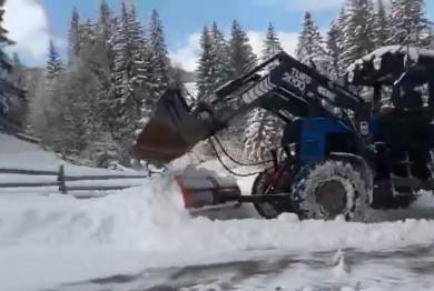 На Путильщині випало до 40 см снігу