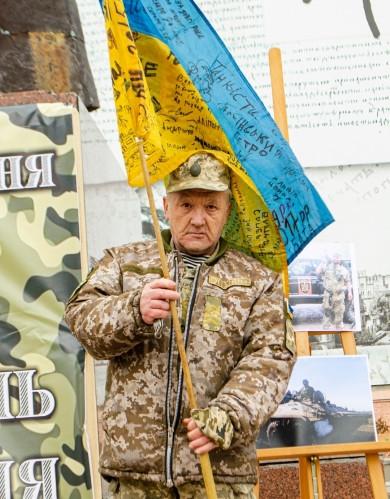 «Наш бойовий прапор скаже все за нас»: У Чернівцях відзначили День українського добровольця (ФОТОРЕПОРТАЖ)