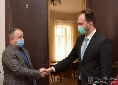 Сергія Бостана призначено директором департаменту розвитку міської ради