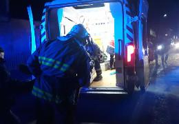 У Сторожинці рятувальники деблокували водія з понівеченого внаслідок ДТП автомобіля