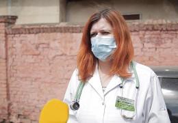 Ольга Кобевко каже, що досі лікарям обласної клінічної лікарні не виплатили ковідні кошти за лютий