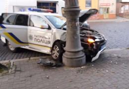 За три роки службові автівки патрульної поліції на Буковині 40 разів потрапляли в аварію