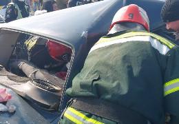 ДТП з 4-ма авто у Дубівцях: рятувальники деблокували із автомобіля дитину, що постраждала під час ДТП
