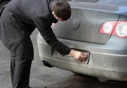 В Україні значно зросли штрафи за брудні автономери