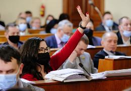 """Мунтян влаштував """"шоу"""", але депутати справилися зі своїм завданням, - Лілія Бортич про підсумки сесії облради"""