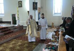 Прихожани Римо-католицького Кіцманського костелу зустріли Воскресіння Христове