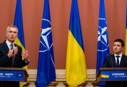 Зеленський назвав вступ у НАТО єдиним шляхом до закінчення війни на Донбасі