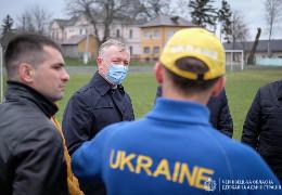 Осачук вирішив перетворити стадіон у Кіцмані на потужний легкоатлетичний комплекс міжнародного рівня