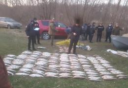 На Дністровському водосховищі затримали браконьєрів, які наловили риби на 1,6 млн. гривень