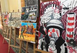 У Чернівецькій ОДА відкрили виставку дитячих малюнків, приурочену 35-тій річниці від дня трагедії на Чорнобильській АЕС