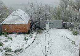 26 квітня 2021 року. Київщину засипало снігом