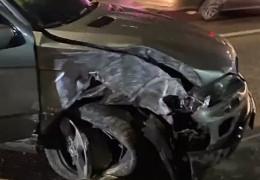 У Чернівцях водій втікав від патрульних та протаранив два авто
