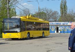 У Чернівцях на Великдень тролейбуси курсуватимуть раніше