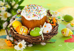 Портал БукІнфо вітає читачів зі світлим і радісним святом Великодня